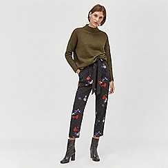 Warehouse - Scatter floral slim trousers