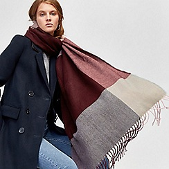 Warehouse - Large scale check scarf