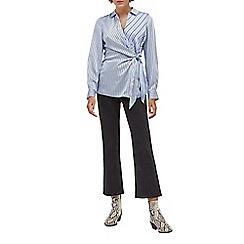 Warehouse - Mixed stripe tie side shirt
