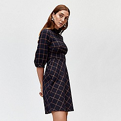 Warehouse - Windowpane dress
