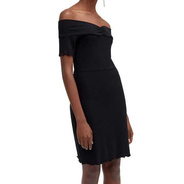 dress bardot Warehouse Warehouse Rib Rib xII7wqRB