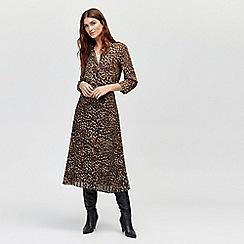 Warehouse - Leopard print shirt