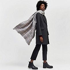 Warehouse - Window pane check scarf
