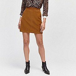 Warehouse - Cord a line skirt