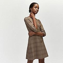 Warehouse - Heritage check mini dress