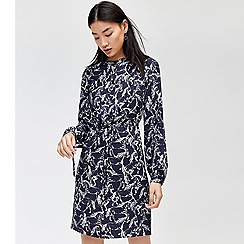 Warehouse - Horse print shirt dress