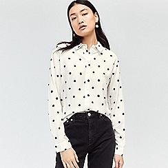 Warehouse - Spot print shirt