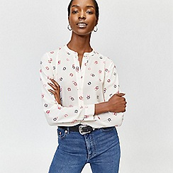 Warehouse - Horse shoe print blouse