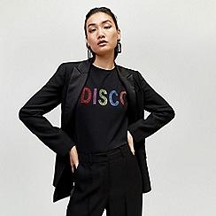 Warehouse - Disco embellished tee