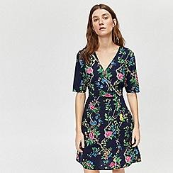 Warehouse - Verity floral wrap dress