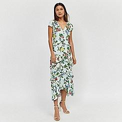 Warehouse - Verity Ruffle Midi Dress