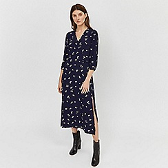 Warehouse - Verity ditsy floral midi dress