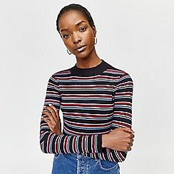 Warehouse - Rainbow stripe jumper