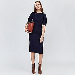 Warehouse - Short sleeve midi dress