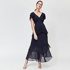 Warehouse - Tiered Ruffle Maxi Dress