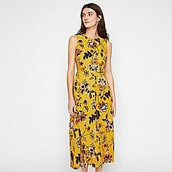 Warehouse - Paisley Floral Midi Dress