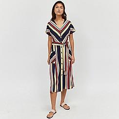 Warehouse - Georgia Stripe Midi Dress