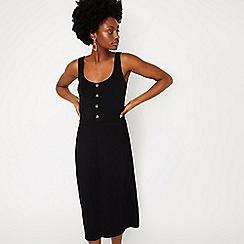 Warehouse - Button Through Cami Midi Dress