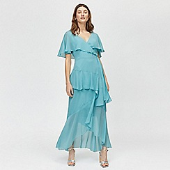 Warehouse - Ruffle Wrap Dress