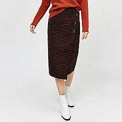 Warehouse - Zebra print skirt