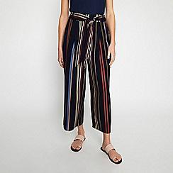 Warehouse - Tie Waist Stripe Culottes