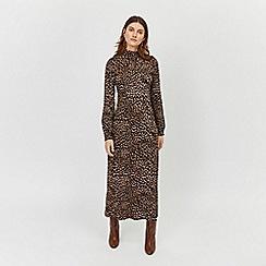 Warehouse - Leopard print maxi dress