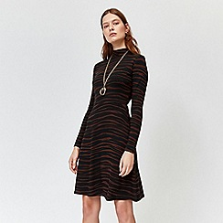 Warehouse - Tiger print short dress