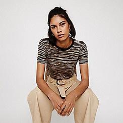 Warehouse - Tiger Print T-shirt