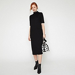Warehouse - Oversized Pocket Ponte Midi