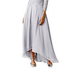 Coast - Silver Iridessa high low skirt