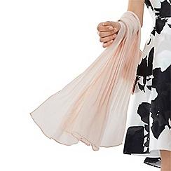 Coast - Blush pink lurex 'Dina' scarf