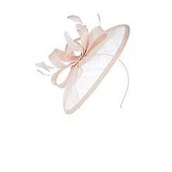 Coast - Blush 'Amedee' pretty knot design fascinator