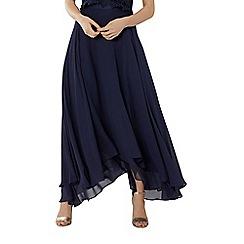 Coast - Navy soft 'Harrie' maxi bridesmaid skirt