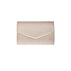 Coast - Gold 'Rue' glitter clutch bag