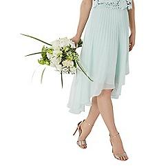 Coast - Mint 'Amelia' pleated midi bridesmaid skirt