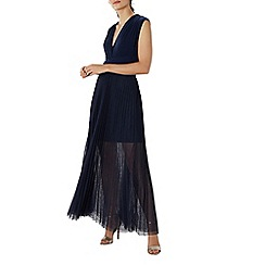Coast - Navy tulle 'Corwin' multiway maxi bridesmaid dress