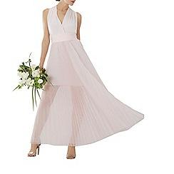 Coast - Blush pink tulle 'Corwin' multiway maxi bridesmaid dress