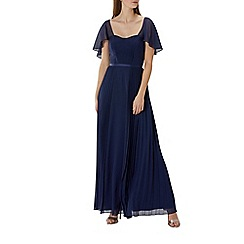 Coast - Navy 'Rosie' pleated maxi dress