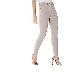 Coast - Neutral 'Bonnie' high-waisted skinny jean