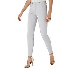 Coast - Grey 'Amour' high-waisted skinny jeans