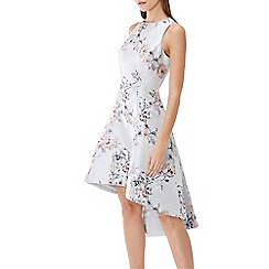 Coast - Floral jacquard 'Anneka' high low dress
