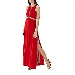 Coast - Red 'Stara' side split maxi dress