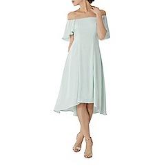Coast - Mint green 'Betty' bardot midi bridesmaid dress