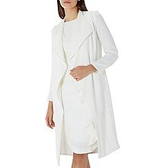 Coast - Ivory white 'Shanie' drape jacket