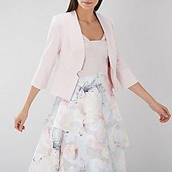 Coast - Blush pink 'Tyler' notch detail 3/4 sleeve jacket