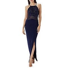 Coast - Navy 'Adeline' lace detail maxi dress