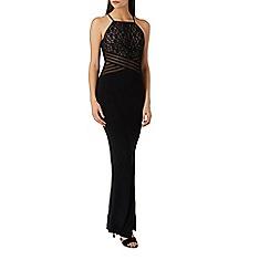Coast - Black 'Adeline' lace detail maxi dress