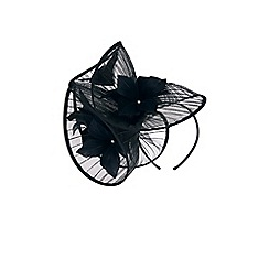 Coast - Black 'Valentina' sculptured fascinator