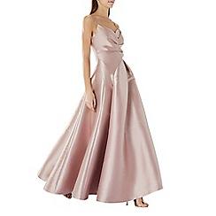 Coast - Mink  Harper  sweetheart strappy maxi dress