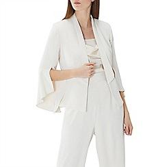 Coast - Cream 'Alba' bell sleeve jacket